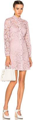 Valentino Lace Button Down Dress $4,980 thestylecure.com