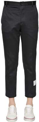 Thom Browne Unconstructed Chino Cotton Twill Pants