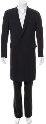 Lanvin Lightweight Silk-Blend Coat