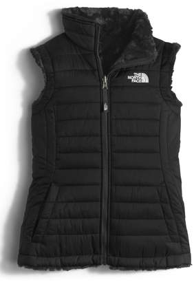 The North Face 'Mossbud Swirl' Reversible Water Repellent Vest