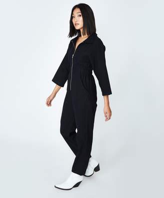 Alice In The Eve Winona 80's Boilersuit Black