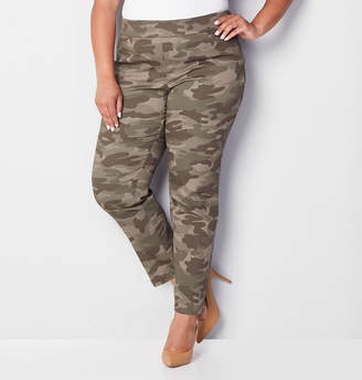 Avenue Cotton Super Stretch Camo Pant 28-32