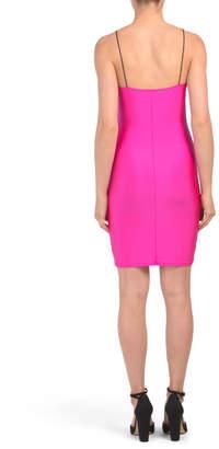 Juniors V-neck Dress