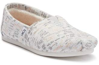 Toms THANKFUL Slip-On Sneaker