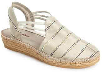 Toni Pons 'Nantes' Silk Stripe Sandal