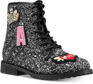 Nina Toddler, Little & Big Girls Whitney Chunky Glitter Boots