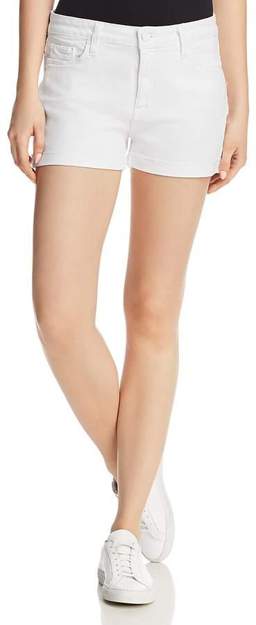 Jimmy Jimmy Denim Shorts in Crisp White