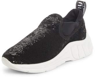 Miu Miu Sequin Slip-On Sneaker