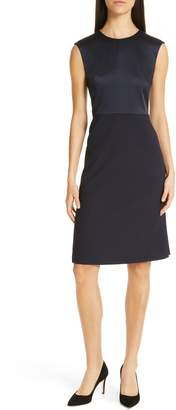 BOSS Dikasana Sleeveless Sheath Dress