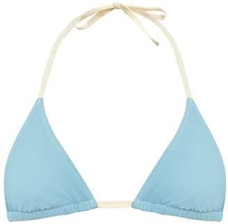 ROXANA SALEHOUN Triangle bikini top