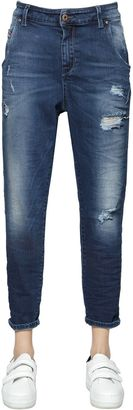 Fayza Evo Distressed Cotton Denim Jeans $226 thestylecure.com