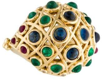 Temple St. Clair 18K Lattice Ring
