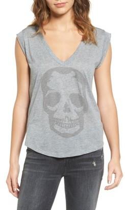 Women's Zadig & Voltaire Skull Tee $118 thestylecure.com