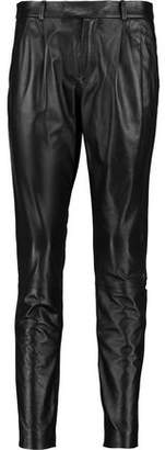 RED Valentino Leather Skinny Pants