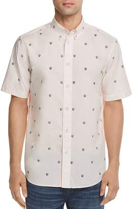 Rag & Bone Smith Patterned Regular Fit Button-Down Shirt