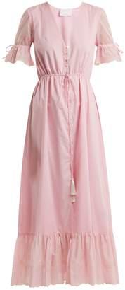 Athena PROCOPIOU Julia button-front dress