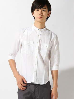 Men's Bigi (メンズ ビギ) - ESSENTIAL GARMENT MEN'S BIGI 七分袖シャツ メンズ ビギ シャツ/ブラウス