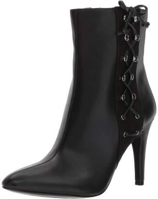 Nine West Women's Goodtalks Synthetic Mid Calf Boot