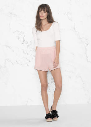 And other stories Scallop Edge Shorts