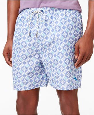 Tommy Bahama Men's Naples Isle Tiles Swim Shorts $68 thestylecure.com
