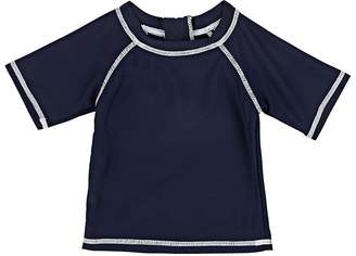 Snapper Rock Kids' Contrast-Stitched Rashguard
