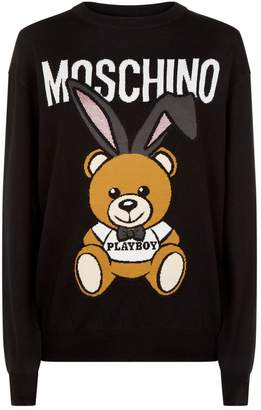 Moschino Playboy Teddy Sweater