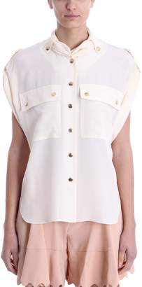 Chloé Chest-pocket Blouse