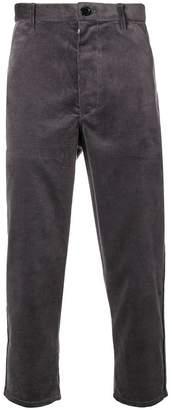 Comme des Garcons Boys corduroy cropped trousers