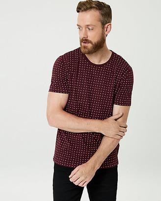 Le Château Arrow Print Cotton T-Shirt