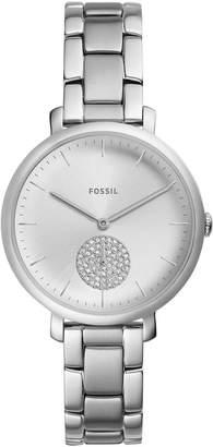 Fossil Women's Jacqueline Stainless Steel Bracelet Watch 36mm