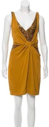 Gucci Silk Embellished Dress