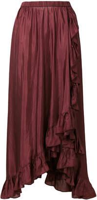 Mes Demoiselles ruffled maxi skirt