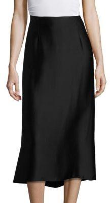 Vince Silk Slip Skirt $275 thestylecure.com