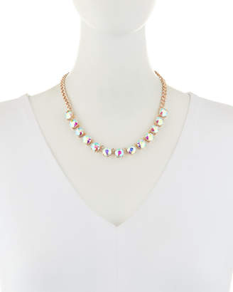 Romeo & Juliet Couture Iridescent Crystal Necklace