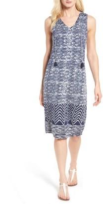 Women's Lucky Brand Batik Print Midi Dress $69.50 thestylecure.com