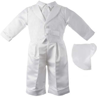 Keepsake Vested Christening Set - Boys newborn-24m
