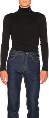 Calvin Klein Interlock Jersey Turtleneck