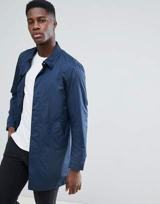 Jack and Jones Originals Trench With Concealed Buttons