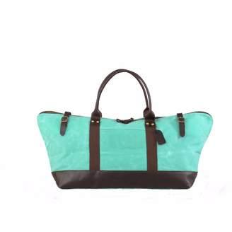 EAZO - Waxed Canvas & Leather Weekend Bag