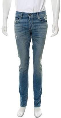 Rag & Bone Standard Issue Distressed Slim Jeans w/ Tags