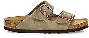 Birkenstock Women's Arizona Suede Double-Strap Sandals