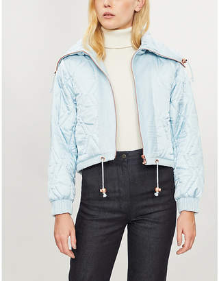 See by Chloe Quilted shell jacket
