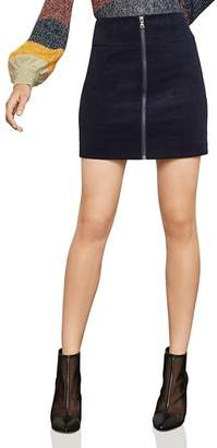 BCBGMAXAZRIA Zip-Front Corduroy Mini Skirt - 100% Exclusive