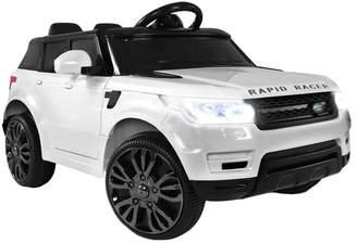 White Rangerover Ride-On Toy Car