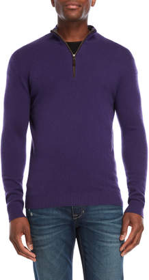 Forte Cashmere Cable Knit Cashmere Sweater