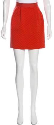 Missoni Textured Houndstooth Skirt