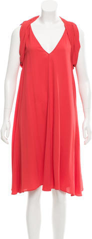pradaPrada Shift Midi Dress