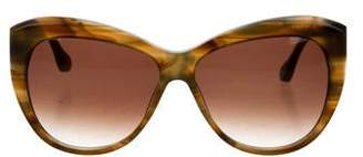 Elizabeth and James Crescent Cat-Eye Sunglasses