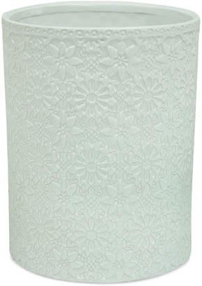 Jessica Simpson Bonito White Wastebasket Bedding