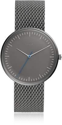 Fossil The Essentialist Three Hand Gray Stainless Steel Men's Watch